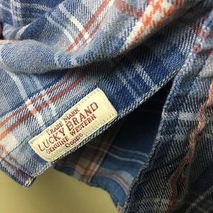 Lucky Brand Shirts - Lucky Brand Western Pearl Snap Shirt